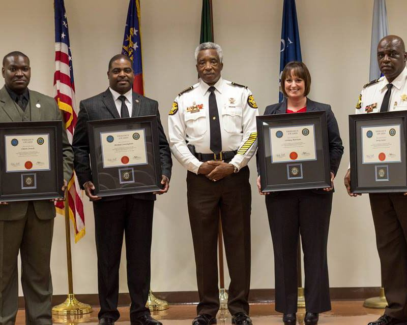 Image of Sheriff&#39s Office receives LEEDA Trilogy Award