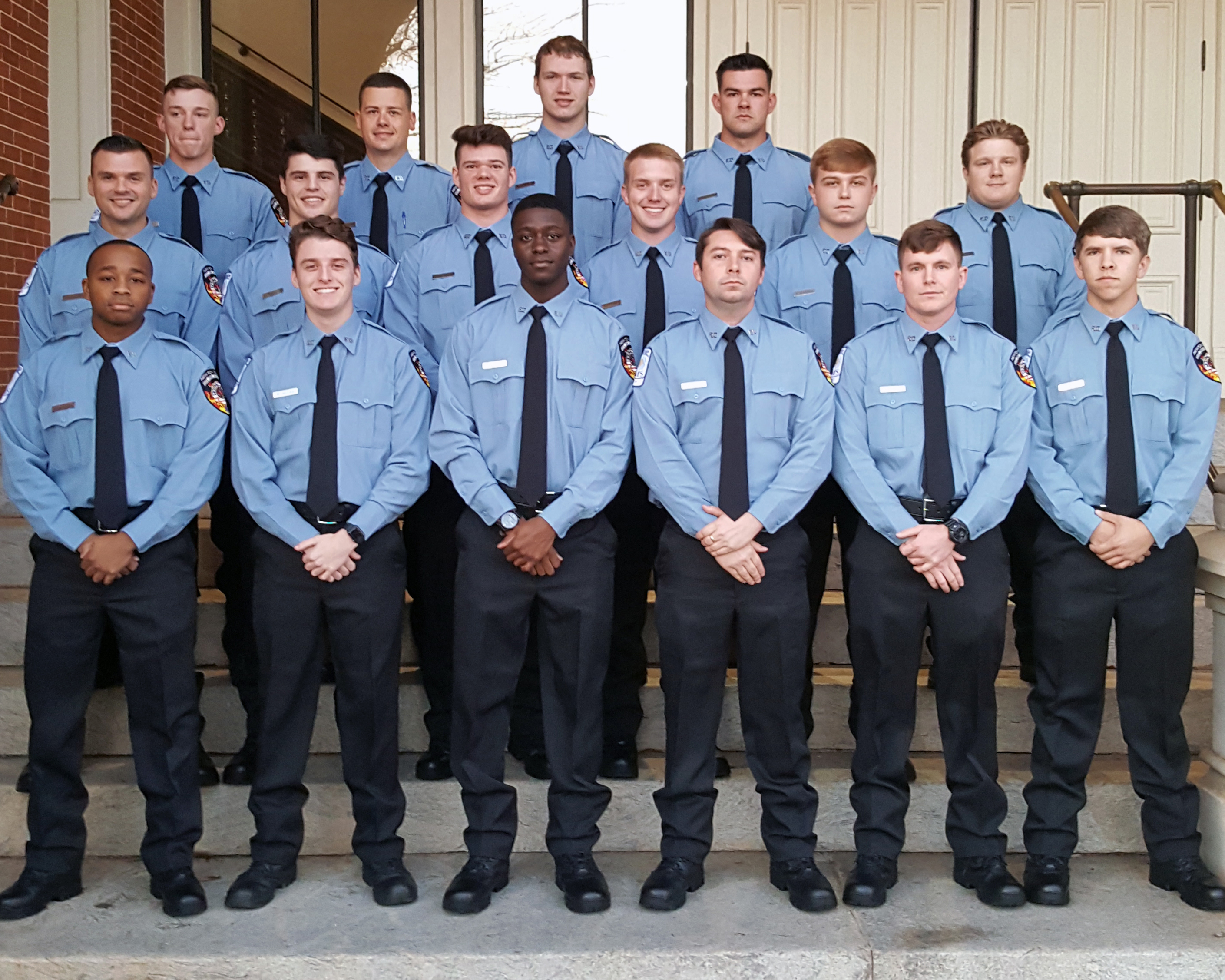 Image of NCFS Class of 2020 recruits