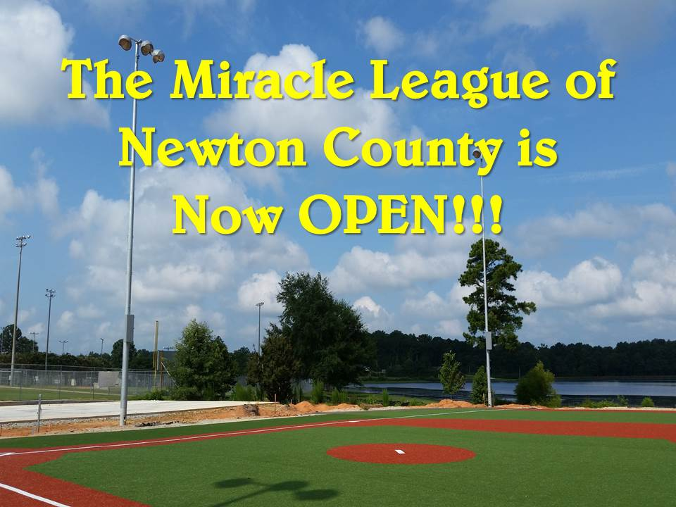 Miracle League Now Open