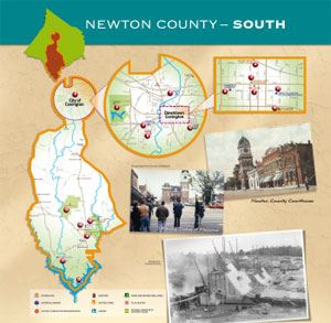 Newton County South Map (PDF)