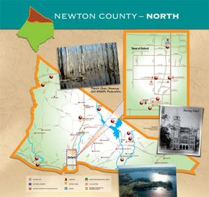 Newton County North Map (PDF)