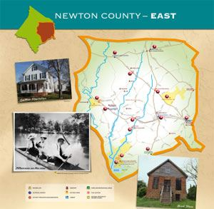 Newton County East Map (PDF)