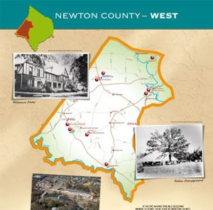 Newton County West Map (PDF)