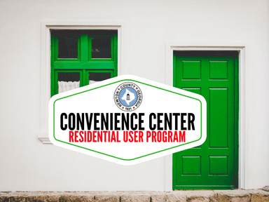 Convenience Center Residential User Program