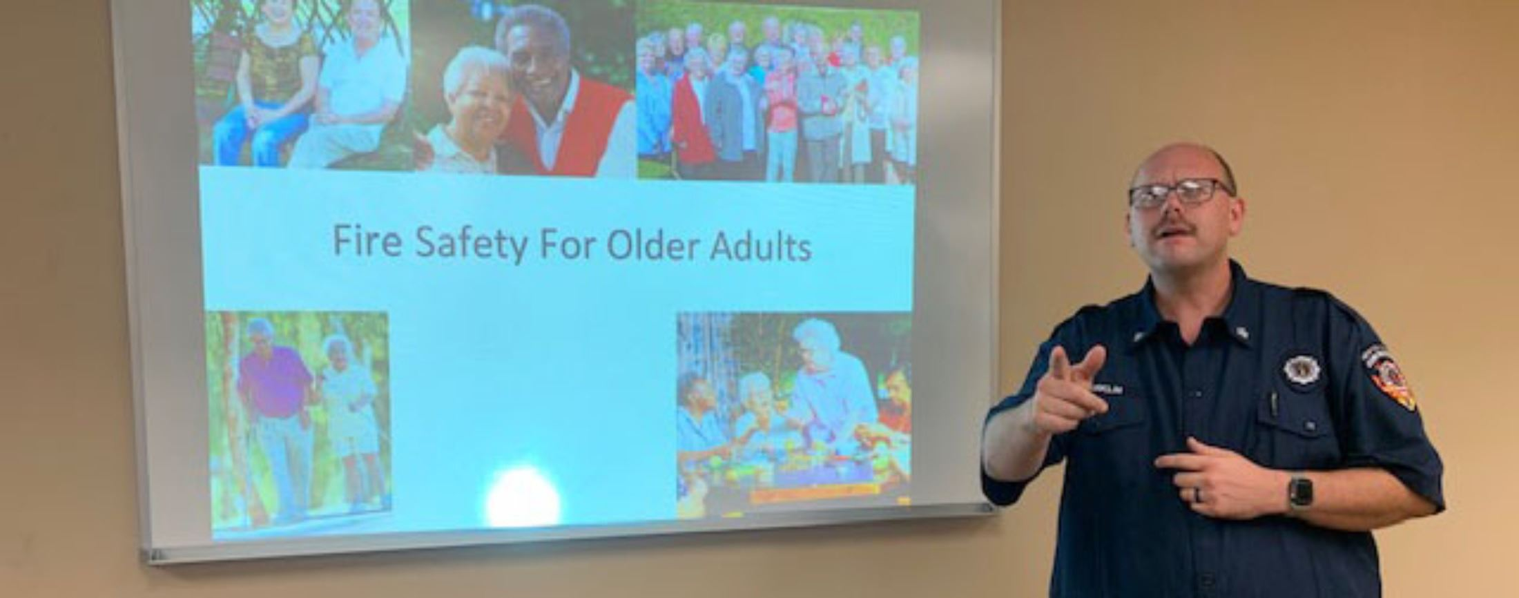 Image of Educating seniors to ensure a safe and secure community
